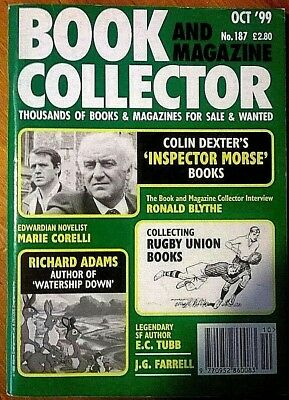 Book And Magazine Collector #187: Inspector Morse; Richard Adams; Rugby Union