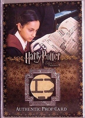 Harry Potter-OOTP-Authentic-Prop Card-The Daily Prophet-# to 400-P10