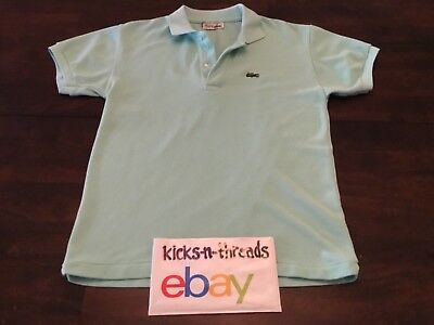 11ebc47b Vintage Chemise Lacoste Polo Shirt ( Mens Medium ) Mint Green Preowned