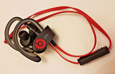Genuine Beats by Dr. Dre Powerbeats2 Ear-hook Headphones Black
