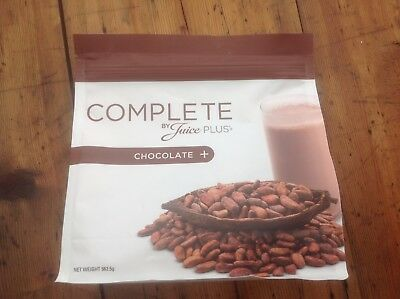 New, sealed pouch - COMPLETE BY JUICE PLUS CHOCOLATE SHAKE POWDER