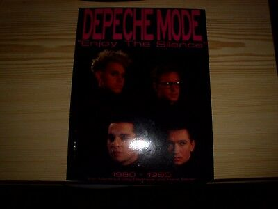 "Buch  Depeche Mode ""Enjoy the silence""  1980-1990"