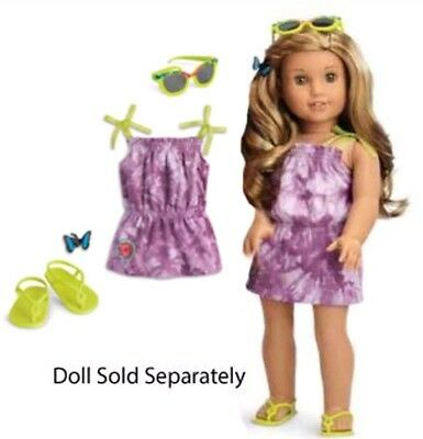 American Girl Lea's beach outfit  brand new!