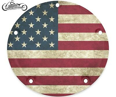Harley Davidson Narrow Profile Derby Cover 2016-2019 Touring Only Patriotic