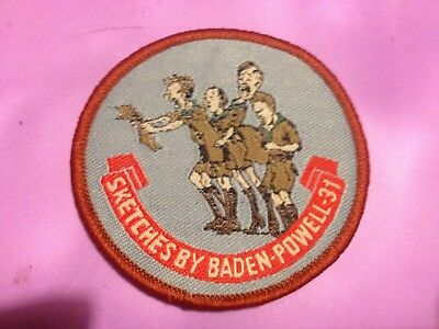 Girl Guides / Scouts Sketches by Baden Powell 31
