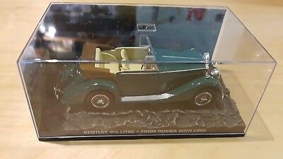 Universal Hobbies - James Bond 007 - Bentley 4 1/4 litre - From Russia With Love