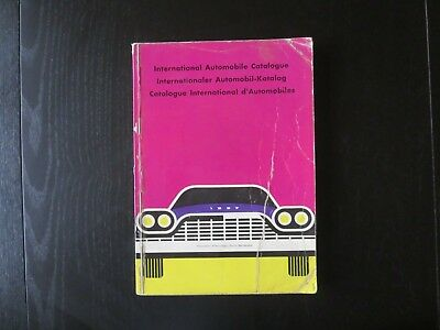 1957 INTERNATIONAL AUTOMOBILE CATALOGUE in six languages and full colour