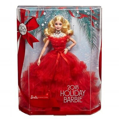 Barbie 2018 Holiday Signature Collector Doll - Blonde - NICE BOXES!