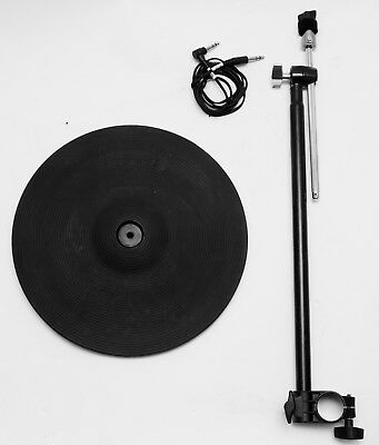 """Roland CY-13R Ride Cymbal V-Drum 13"""" Triple Zone V-Drums Pad Electronic"""