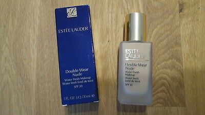 ESTEE LAUDER Double Wear Nude Water fresh Make up 4N1 SHELL BEIGE 30ml