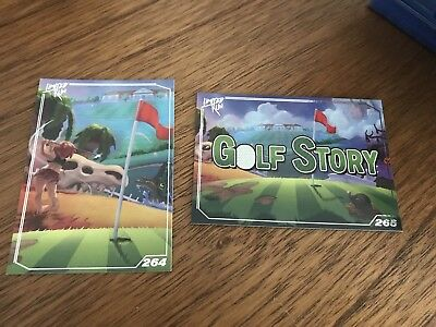 Limited Run Games - Golf Story Trading Cards X2 - Silver - 264, 265