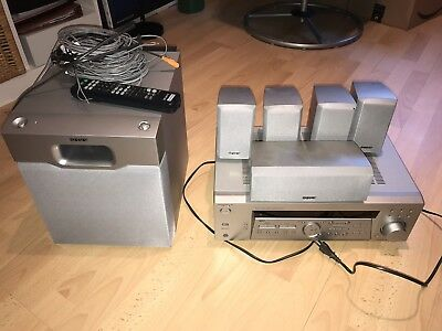 Sony HT-DDW740 Home Theater System /Dolby Surround