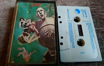Queen~News Of The World~Rare Cassette Tape Album~Fast Post~We Will Rock You