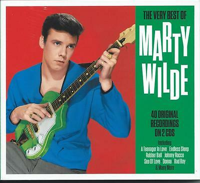 Marty Wilde - The Very Best Of - Greatest Hits 2CD NEW/SEALED