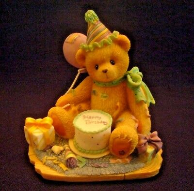"""RARE """"You're The Frosting On The Birthday Cake"""" 1997 #306398 Cherished Teddies"""