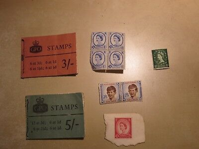 Package of modern UK stamps