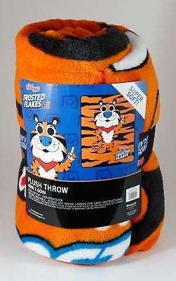 """Funko Loungefly FROSTED FLAKES TONY THE TIGER 60""""x48"""" Fleece Throw Free Shipping"""