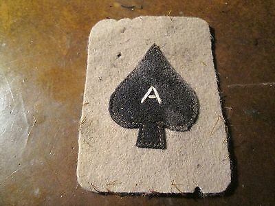 WWI US Army patch 344th Battalion Tank Corps Patch AEF