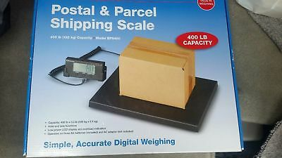 Brecknell Postal & Parcel Shipping Scale 400lbs BPS400 Digital NEW