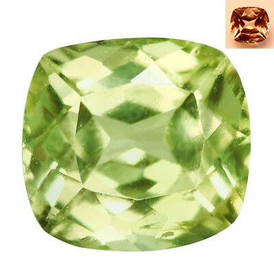 1.25Ct Awesome Cushion Cut 6 x 6 mm AAA Color Change Turkish Diaspore