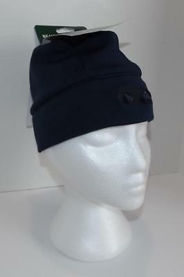 LL Bean Pathfinder Lighted Winter Beanie Hat Cap Running Hiking  Hunting~Blue NWT a611dcf4ddd4