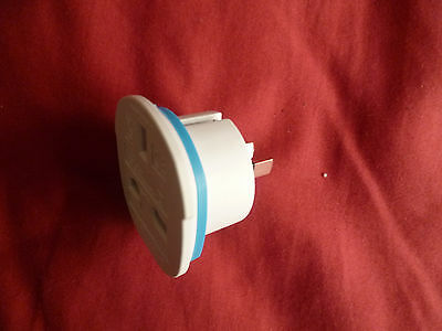UK to World Plug Socket Power Adapter