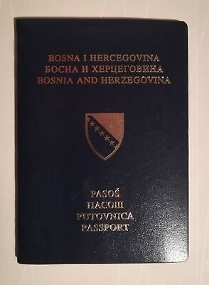 Passport Bosnia and Herzegovina BEAUTIFUL YOUNG GIRL Cancelled-Expired