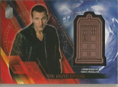 Doctor Who TIMELESS Medallion insert trading card THE Ninth Doctor #023/150