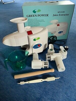 Green Power Entsafter KP-E1201 Kempo - NEU