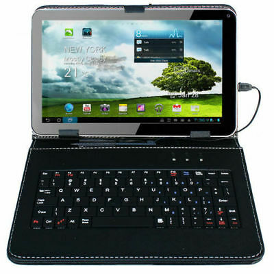 """9"""" Android 4.4 Tablet PC Quad Core 8GB Wi-Fi Dual Camera with Keyboard Bundle"""