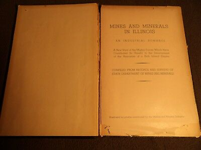 Mines and Minerals in Illinois 1944  D