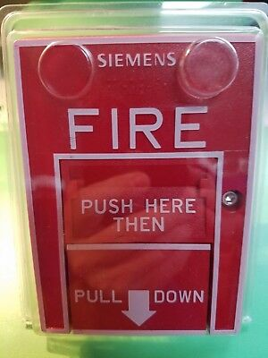 Siemens HMS-D Dual Action Fire Alarm Pull Station - NEW