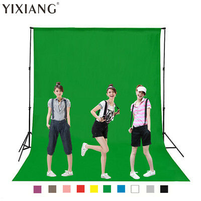 Green Background Studio Photography White Black Backdrop Photo Screen Size Stand