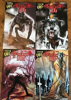 Southern Dog Graphic Novels Issues 1 - 4 Holt & Diotto