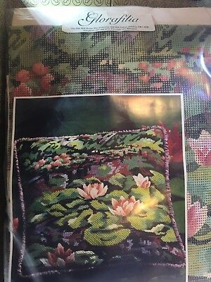 Glorafilia Tapestry Kit - Monet! Anchor Wools.