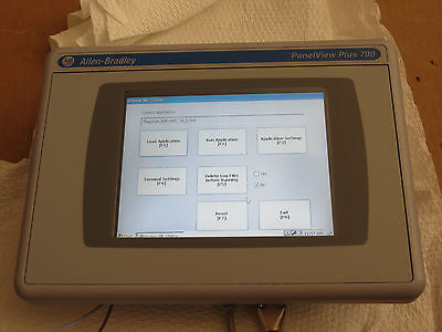 Allen Bradley PanelView Plus CE 2711P-T7C4D7 Color Touch, 2010 Very Nice Tested
