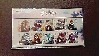 Harry Potter Royal Mail 15x 1st Class Stamps Presentation pack 562 16.10.18