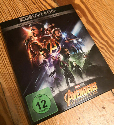 Avengers: Infinity War 4K Ultra HD (inkl. Full HD Blu-Ray)