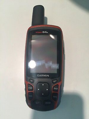 Garmin GPSMAP 64s Handheld GPS Unit - mint condition, used one time.