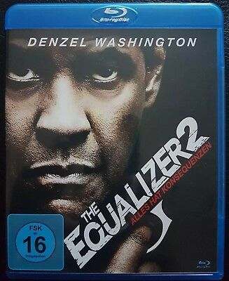 The Equalizer 2 mit Denzel Washington  Blu ray (2018)