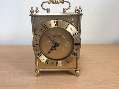 Antique Brass Seth Thomas Carriage Clock Working