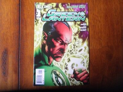 Green Lantern #1 Teardrop Error Variant Recalled First Print New 52 VFN-/VFN