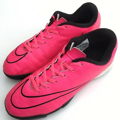 0d533cbfe Nike Boys Astro Turf Football Boots Size 5.5 Pink Mercurial Astro Soles