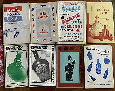 Vintage Books & Magazines on Collecting Old Bottles