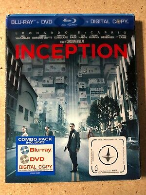 Inception (Blu-ray Disc, 2010, Two-Disc Edition)