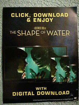 The Shape of Water (2017) - GOOGLE HD CODE ONLY (No Blu Ray)
