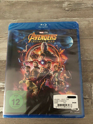 Bluray AVENGERS Infinity War !NEU!.