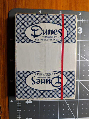 ~ Vintage Dunes Hotel Casino and Country Club Las Vegas ~ Sealed Deck of Cards ~