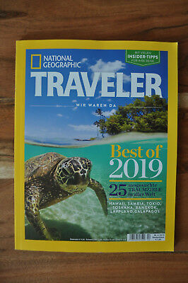 NATIONAL GEOGRAPHIC TRAVELER - 04/2018 - Best of 2019