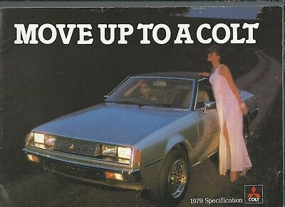 Mitsubishi Colt 1979 - 2 Brochures Move up & Heart Beating & Price Spec List (ep
